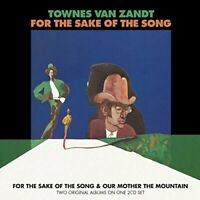 Townes Van Zandt - For The Sake Of The Song & Our Mother The Mountain (2CD)  NEW