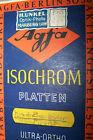 14 Isochrom Platten Agfa Berlin Glasnegativ IG Farben Berlin 1925 30er 40er Jahr