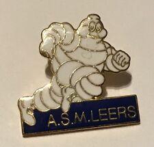 N18 : TRES RARE PIN'S PIN MICHELIN BIBENDUM @ MICHELIN A.S.M. LEERS @ TOP