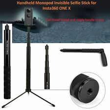 Non Slip Selfie Stick Port Handheld Monopod Handle for Insta360 One & X Camera