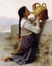 Bougereau William Thirst Of A Girl Print 11 x 14  #5165