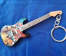 Iron Maiden10cm Wooden Guitar Key Chain