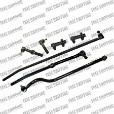 Front Ends Steering Kit Tie Rod Linkages For 4WD Dodge Ram 2500 Dana 44 Axle