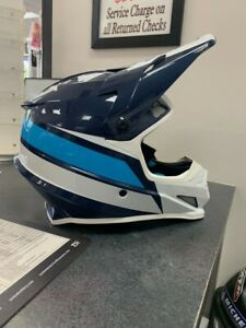 NEW! Z1R Rise Evac Helmet - Blue/White Size XL