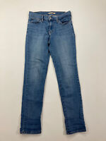 LEVI'S SLIMMING SLIM Jeans - W29 L32 - Blue - Great Condition - Women's