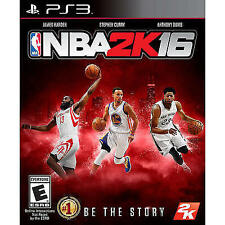 NBA 2K16 (Sony PlayStation 3, 2015), Rated E, Stephen Curry,Anthony Davis,Harden