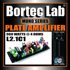 Bortec Lab 900 watt Mono Plate Amplifier with H/P and L/P for Subwoofer
