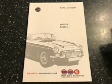 MG MGC & GT MGOC ILLUSTRATED SPARE PARTS CATALOGUE MANUAL (2009)