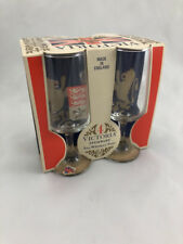 Victoria Stemware 5 Oz.Whiskey Sour Glass Set Made In England