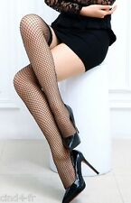 Bas sexy noir resille lingerie XS / S -Hot sexy black Pantyhose fishnet stocking