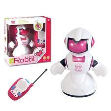 RC Robot Flashing LED Light Kids Children Remote Control Musical Toy Gift UK