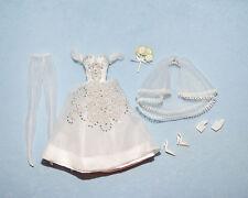 PRINCIPESSA Silkstone Bridal Gown Silky White Gold Label Wedding Dress BARBIE