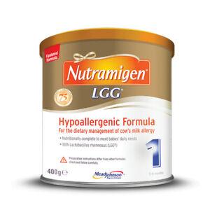 NUTRAMIGEN LGG 1 - 2 x 400g - Baby Formula 0-6 months - Expires 01/01/2023