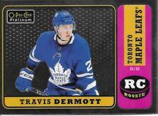 18-19 2018-19 OPC Platinum Travis Dermott RETRO ROOKIE #R-76 Leafs