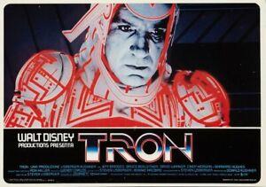 Walt Disney Tron Reproduction Movie Lobby Card archival quality photo