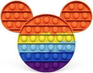 Bubble Fidget Sensory Popper Multi Colored Mickey Mouse