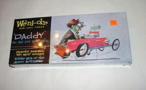 WEIRD-OH's Hawk Model kit 2006 Reissue DADDY   Roth hot rod car sealed cello 619