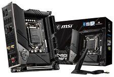 Msi Meg Z490I Unify Lga1200 Wi-Fi 6 Thunderbolt 3 (Type-C) Mini-Itx Motherboard