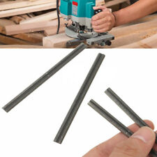 2Pcs 82mm Reversible High Speed Steel Planer Blades For Electric Power Tool New