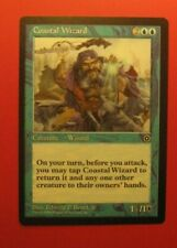 1x Coastal Wizard, LP, Portal Second Age, EDH Commander Tribal Bounce Combo