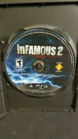inFamous 2 in Great Condition For PS3 Disc Only