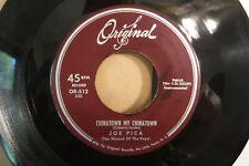 Joe Pica, The Music Goes Round & Round / Chinatown My Chinatown, Original OR 512