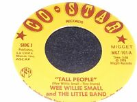 TALL PEOPLE 45 rpm Satire of Randy Newman Short People Song WEE WILLIE SMALL 78