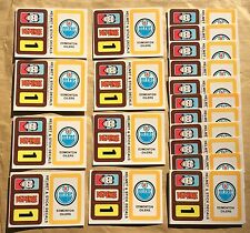 1979-80 Topps NHL Hockey Wax Pack Sticker Insert Edmonton Oilers Lot Of 25