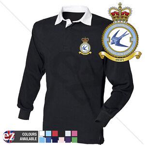 RAF 72 Squadron - RAF Rugby Shirt Long Sleeve