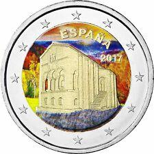 Spanien 2 Euro 2017 Kirchen des Königreichs Asturien Gedenkmünze in Farbe