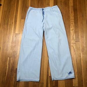 Detroit Lions Pajama Bottoms. Women's Size XL - Sports Blue - NFL Football