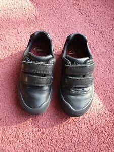 Boys clarks shoes size 7