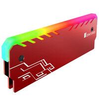 JONSBO NC-1 aluminum-magnesium alloy RGB Light effect Glow Desktop Memory coolin