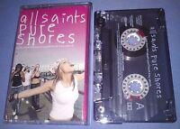 ALL SAINTS PURE SHORES cassette tape single