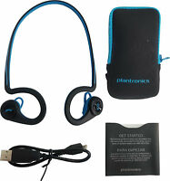 Plantronics BackBeat Fit Stereo Bluetooth Wireless Waterproof Headphones - Blue