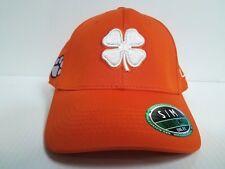 Clemson Tigers Black Clover Cap Lucky Premium Stretch Golf Hat NCAA f499f3525278