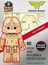 Wonder Woman - Incredibots - Wood Model - Brand New - Incredibuilds 84581