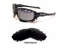 Replacement Lenses for Oakley Racing Jacket Iridium Black Polarized 100%UVA&VB/r