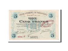 Monnayage de nécessité, France, Maubeuge, 5 Francs, 1914, TTB+ #162469