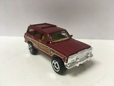 1986-1991 AMC Jeep Grand Wagoneer Luxury SUV 4x4 Collectible 1/64 Scale Diecast