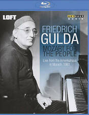 FRIEDRICH GULDA: PLAYS MOZART FOR THE PEOPLE NEW BLU-RAY