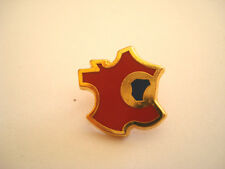 PINS RARE CARTE DE FRANCE REGION EST