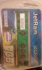 Transcend JetRam 1GB DDR2 800 DIMM 5-5-5