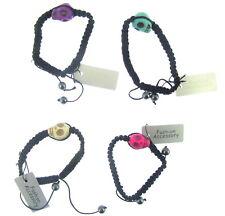 Cord BraceletS Adjustable 4 X Skull Head