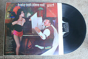 """HONKY TONK PIANO ROLL Guy """"Fingers"""" Gregory cheesecake Sexy RECORD LP VG"""