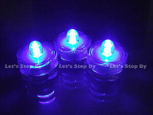 12 Submersible Underwater LED Wedding Party Floral Decoration Candle tea light