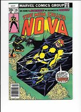 The Man Called Nova #19 May 1978 1st appearance Blackout / Wally West Kid Flash