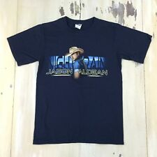 JASON ALDEAN - 2013 Night Train Navy Blue Concert Tour T-shirt, Adult SMALL