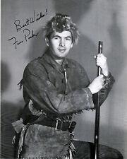 """Fess Parker - Davy Crockett/Daniel Boone  8""""x10""""  Autographed Photo Copy  DC-01"""