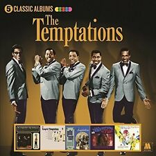 THE TEMPTATIONS '5 CLASSIC ALBUMS' (Best Of) 5 CD SET (2017)